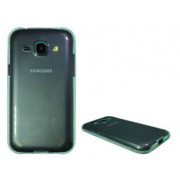 Samsung Galaxy J1 - Gumiran ovitek (TPUD) - rob zelen
