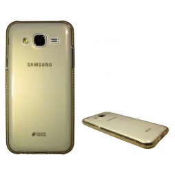 Samsung Galaxy J5 - Gumiran ovitek (TPUD) - oranžen