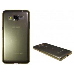 Samsung Galaxy Grand Prime - Gumiran ovitek (TPUD) - oranžen