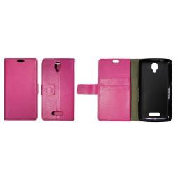 Lenovo A1000 - Preklopna torbica (WLG) - roza