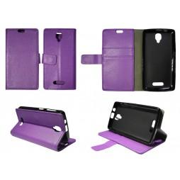 Lenovo A1000 - Preklopna torbica (WLG) - vijolična