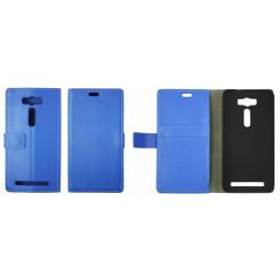 Asus Zenfone 2 Laser - Preklopna torbica (WL) - modra