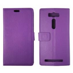 Asus Zenfone 2 Laser - Preklopna torbica (WL) - vijolična