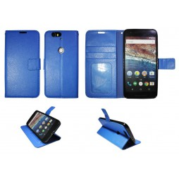 Huawei Nexus 6P - Preklopna torbica (WLG) - modra