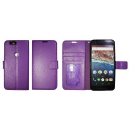 Huawei Nexus 6P - Preklopna torbica (WLG) - vijolična