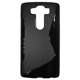 LG V10 - Gumiran ovitek (TPU) - črn SLine
