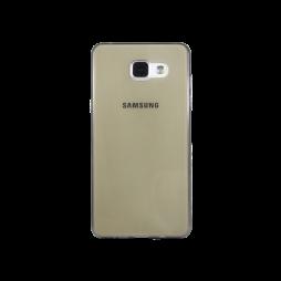 Samsung Galaxy A5 (2016) - Gumiran ovitek (TPUA) - sivo-prosojen