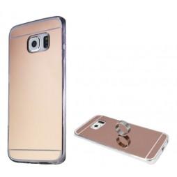 Samsung Galaxy S6 Edge - Gumiran ovitek (TPUE) - roza