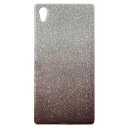 Sony Xperia Z5 - Gumiran ovitek (TPUB) - kavna