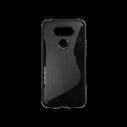LG G5/G5 SE - Gumiran ovitek (TPU) - črn SLine