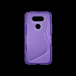 LG G5/G5 SE - Gumiran ovitek (TPU) - vijolično-prosojen SLine