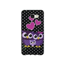 Samsung Galaxy A5 (2016) - Gumiran ovitek (TPUP) - Owls in love