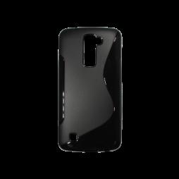 LG K10 - Gumiran ovitek (TPU) - črn SLine