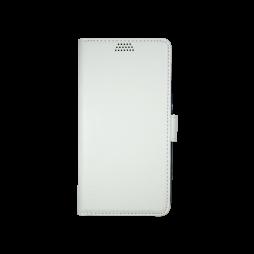 Huawei Y6 - Preklopna torbica (WLG) - bela