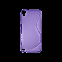 HTC Desire 530/630 - Gumiran ovitek (TPU) - vijolično-prosojen SLine