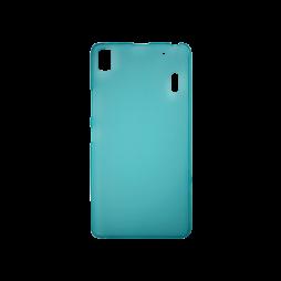 Lenovo K3 Note - Gumiran ovitek (TPU) - turkizno-prosojen mat