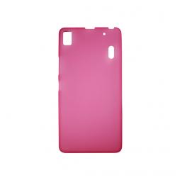 Lenovo K3 Note - Gumiran ovitek (TPU) - roza-prosojen mat