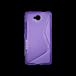 Microsoft Lumia 650 - Gumiran ovitek (TPU) - vijolično-prosojen SLine