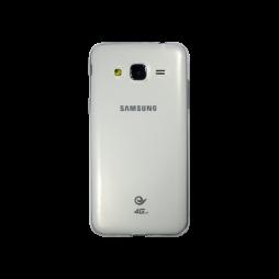 Samsung Galaxy J3 (2016) - Gumiran ovitek (TPUA) - prosojen