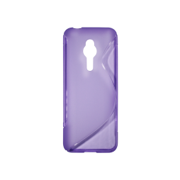 Nokia 230 - Gumiran ovitek (TPU) - vijolično-prosojen SLine