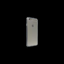 Apple iPhone 6Plus/6SPlus - Gumiran ovitek (TPU+ALU) - siv