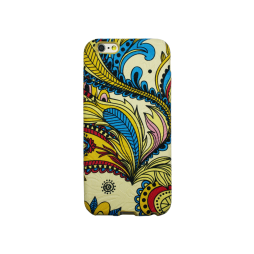 Apple iPhone 6/6S - Gumiran ovitek (TPU3D) - vzorec 1