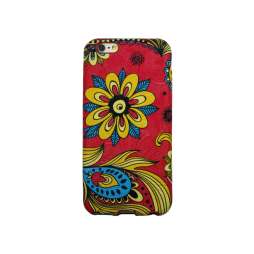 Apple iPhone 6/6S - Gumiran ovitek (TPU3D) - vzorec 4