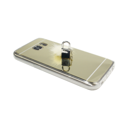 Samsung Galaxy S7 - Gumiran ovitek (TPUE) - zlat