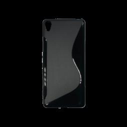 Sony Xperia XA - Gumiran ovitek (TPU) - črn SLine