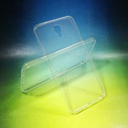 LG X screen - Gumiran ovitek (TPUA) - prosojen
