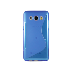 Samsung Galaxy J5 (2016) - Preklopna torbica (TPU) - modra