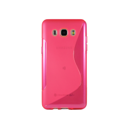 Samsung Galaxy J5 (2016) - Preklopna torbica (TPU) - roza