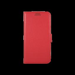 Samsung Galaxy J1 (2016) - Preklopna torbica (WLG) - rdeča