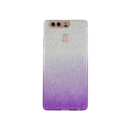 Huawei P9 - Gumiran ovitek (TPUB) - vijolična