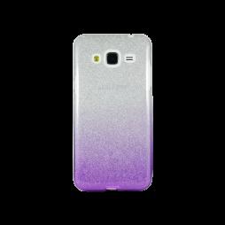 Samsung Galaxy J3 (2016) - Gumiran ovitek (TPUB) - vijolična