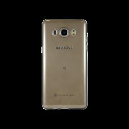 Samsung Galaxy J5 (2016) - Gumiran ovitek (TPUA) - sivo-prosojen