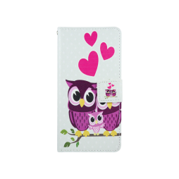 Sony Xperia X - Preklopna torbica (WLGP) - Owls in love