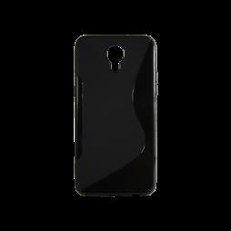 LG X screen - Gumiran ovitek (TPU) - črn SLine