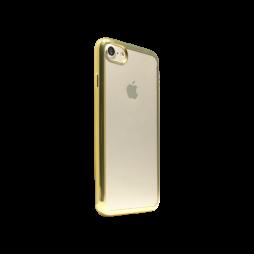 Apple iPhone 7 - Gumiran ovitek (TPUE) - zlat