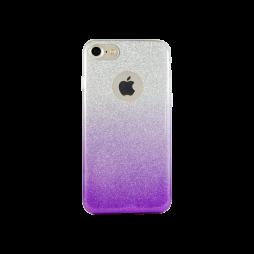 Apple iPhone 7/8 - Gumiran ovitek (TPUB) - vijolična