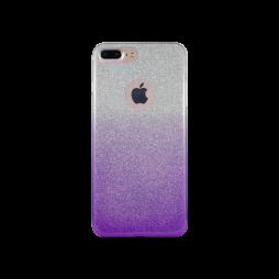 Apple iPhone 7 Plus/8 Plus - Gumiran ovitek (TPUB) - vijolična