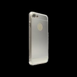 Apple iPhone 7 - Gumiran ovitek (TPUE) - srebrn