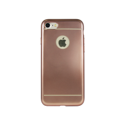 Apple iPhone 7 - Gumiran ovitek (TPUE) - roza