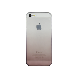 Apple iPhone 5/5S/SE - Gumiran ovitek (TPUO) - kavna