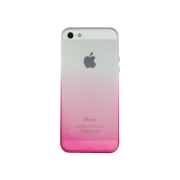 Apple iPhone 5/5S/SE - Gumiran ovitek (TPUO) - roza