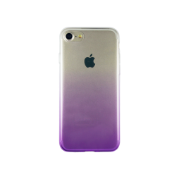 Apple iPhone 7/8 - Gumiran ovitek (TPUO) - vijolična