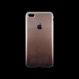 Apple iPhone 7 Plus/8 Plus - Gumiran ovitek (TPUO) - kavna