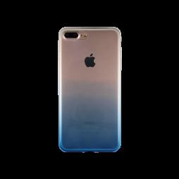 Apple iPhone 7 Plus/8 Plus - Gumiran ovitek (TPUO) - modra