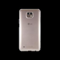 LG X Cam - Gumiran ovitek (TPUA) - prosojen