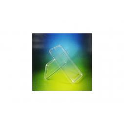 Lenovo Vibe C - Gumiran ovitek (TPUA) - prosojen